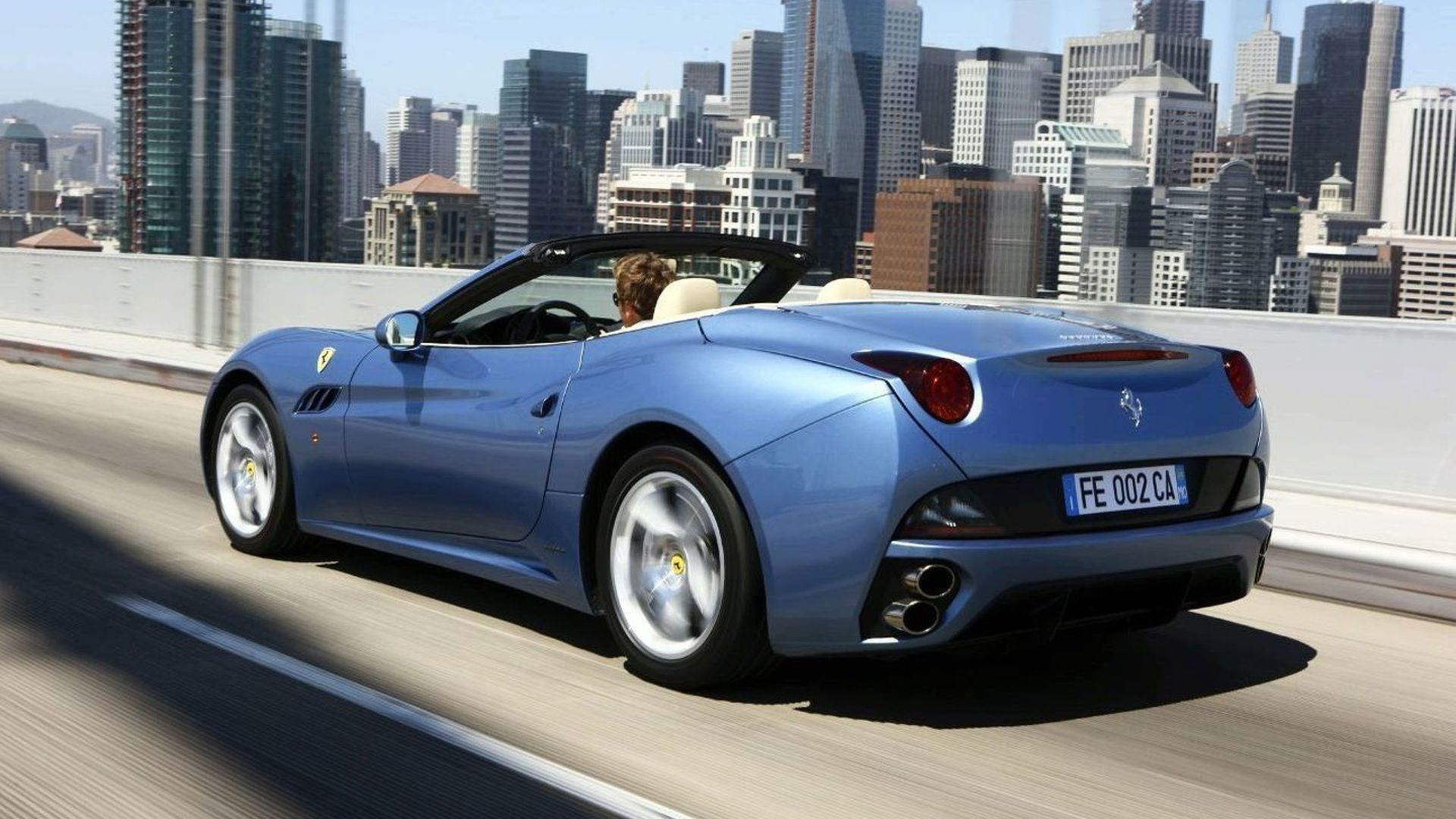 UK Pricing for Ferrari California Starts at £143K