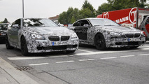 2012 BMW M6 Coupe spied in black and silver