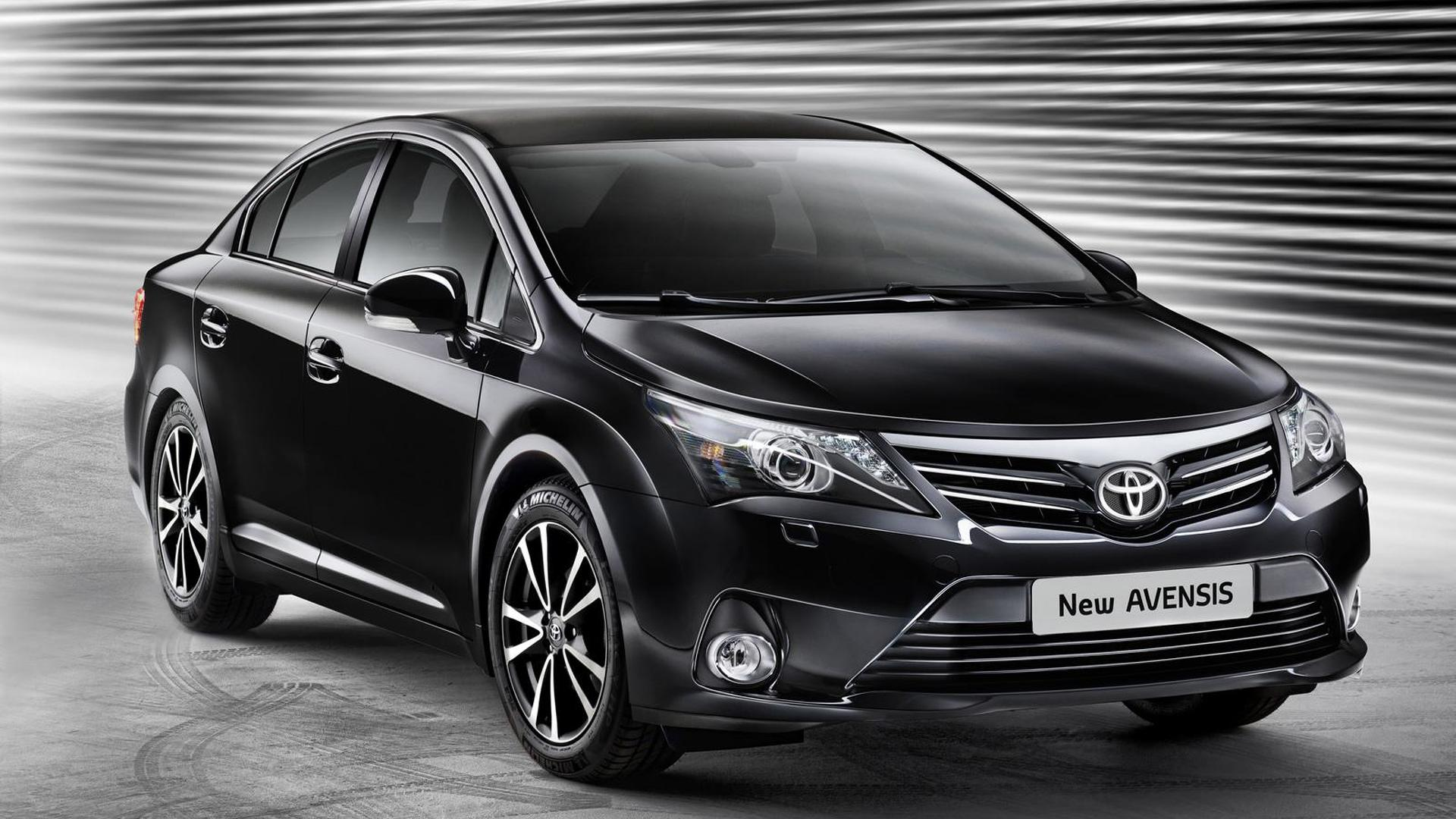 toyota could axe avensis model in 2018. Black Bedroom Furniture Sets. Home Design Ideas