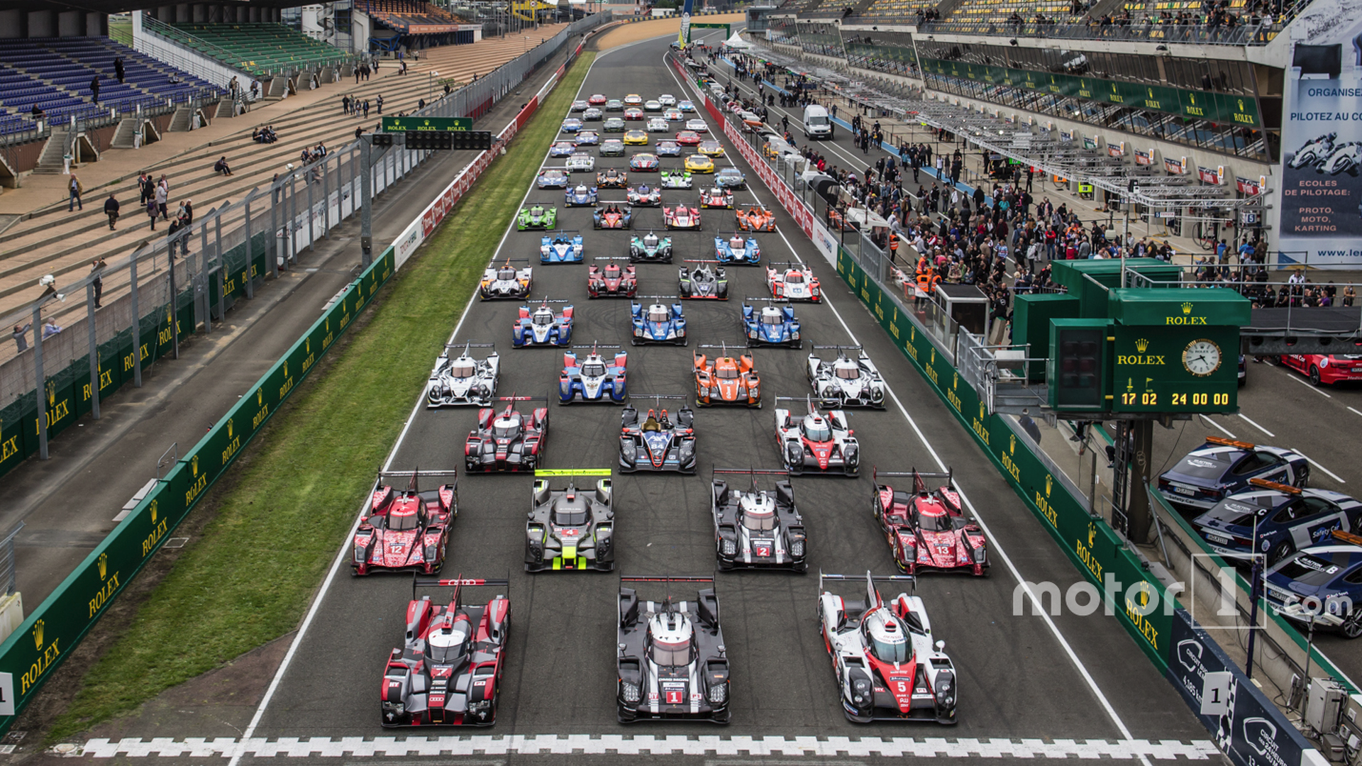 Top 10 photos from Le Mans