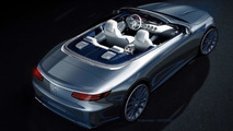Mercedes-Benz S-Class Cabriolet previewed in official render