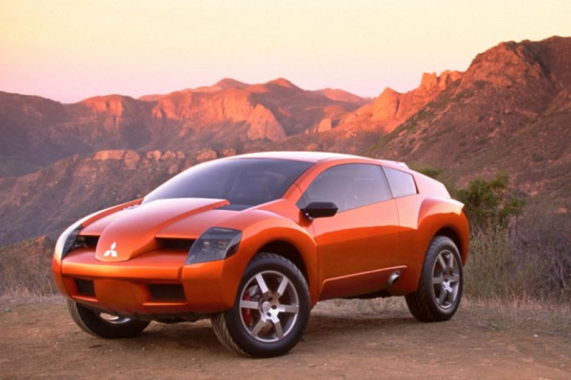 The 2001 Mitsubishi RPM 7000 Concept and Its Rally Car Roots