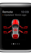 Porsche app for Apple Watch