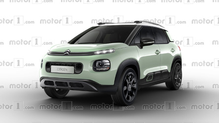 Citroen C3 Aircross Render Makes Bold Design Statement