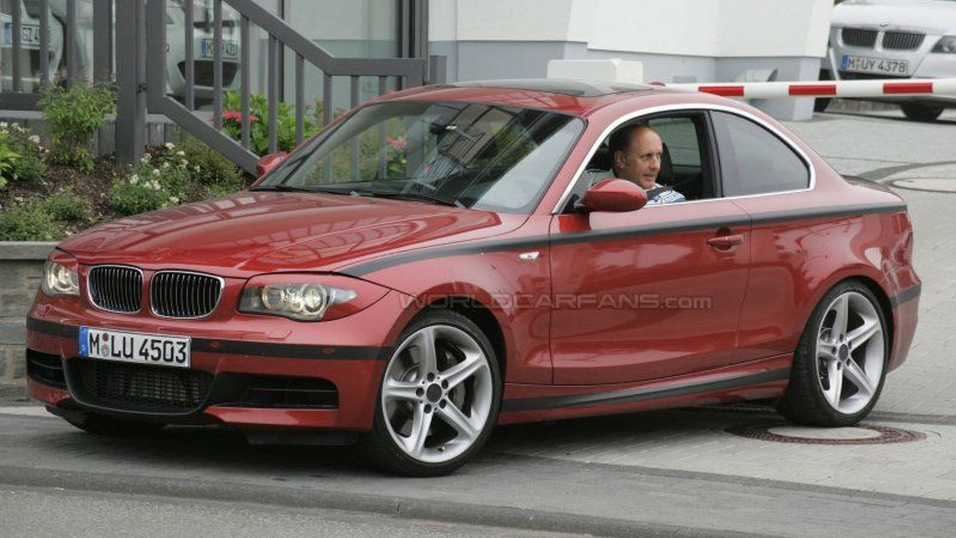 BMW's 1 Series Coupe Testing with Hans Joachim Stuck