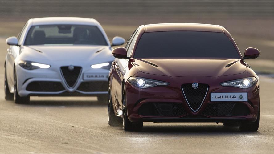 Alfa Romeo Giulia sets fastest blindfolded lap record at Silverstone