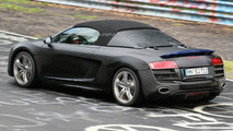 Audi R8 V10 5.2 FSI Spider Spied on Video