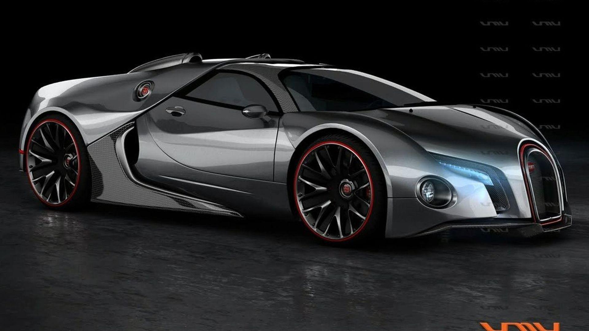 New Bugatti Veyron to top 1200hp