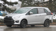 2013 Ford Galaxy mule spied 10.01.2011