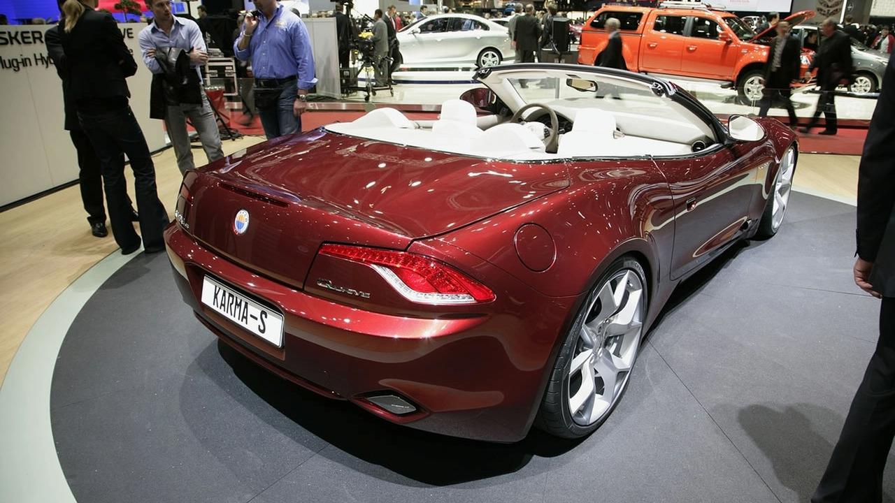 Fisker Karma at 2009 Geneva Motor Show