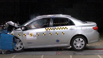 New Toyota Corolla EuroNCAP Safety Rating