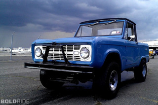 Ford's First Compact SUV: The 1966 Bronco