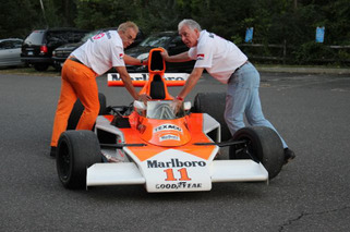 Screening 'Rush' with Highcroft Racing