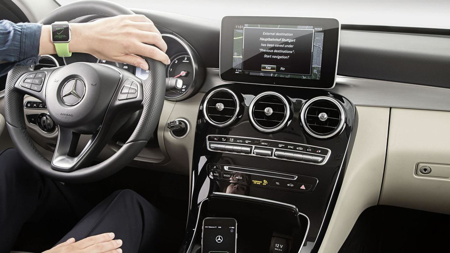 Mercedes introduces their MB Companion App for the Apple Watch