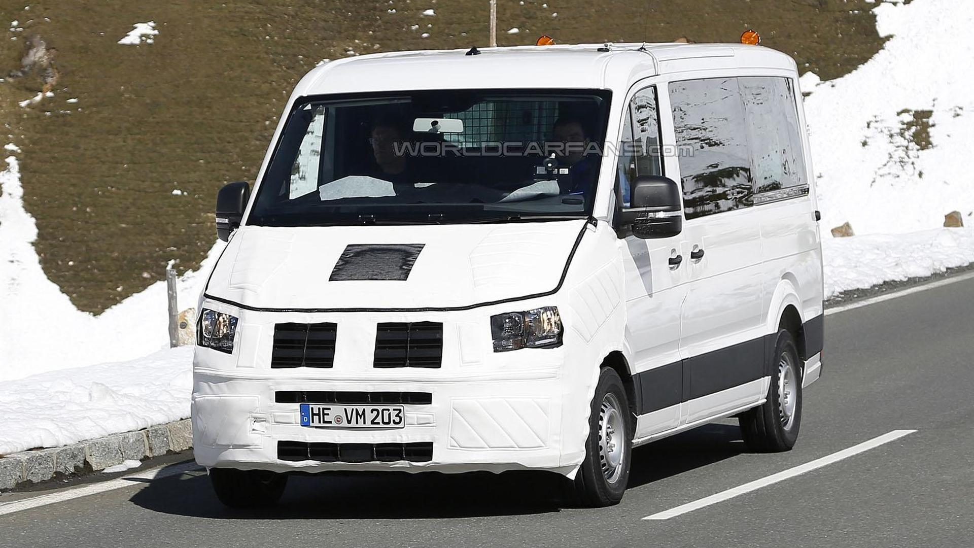 2017 Volkswagen Crafter spied for the first time