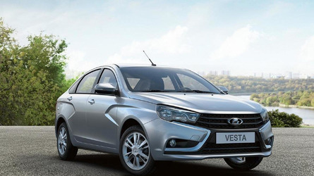 Lada Vesta detailed in fresh gallery