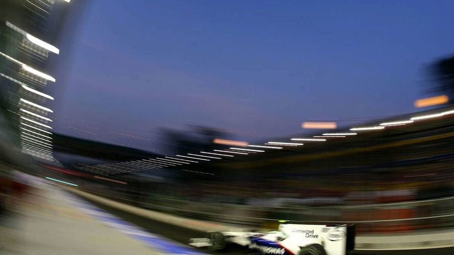 Huge car upgrade for BMW-Sauber in Singapore