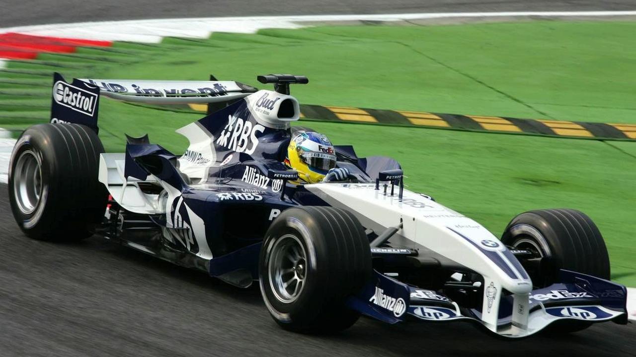Nick Heidfeld (GER), BMW Williams F1 FW27, Italian Grand Prix, 02.09.2005 Monza, Italy,