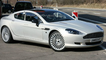 Aston Martin Rapide Interior Spied for First Time