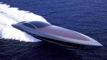 Luxury Super Yacht with built-in garage by Strand Craft