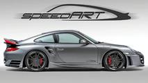 SpeedART BTR II 650 EVO Pumps Porsche 911 Turbo Facelift up to 650 hp
