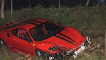 Ferrari 430 Scuderia crashes heavily in Australia