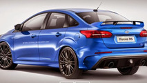 Ford Focus RS Sedan rendering