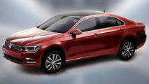 Volkswagen NMC (New Midsize Coupe) leaked image