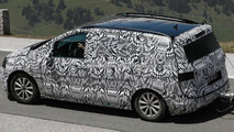 2015 Volkswagen Touran spied in Europe