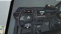 Citroen Cactus production version cabin render 28.10.2013