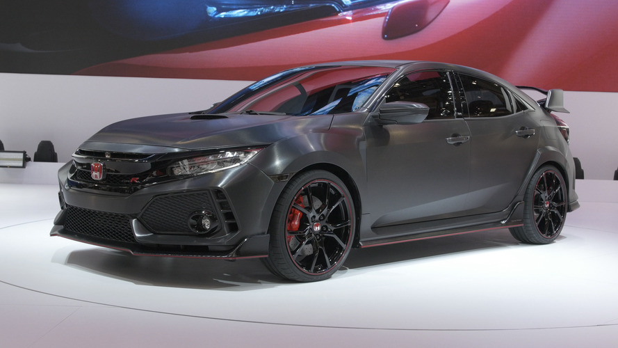 Video: Honda Civic Type R Prototype at the Paris Motor Show