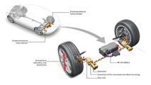 Audi reveals energy-capturing suspension technology