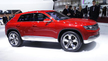 Volkswagen Cross Coupe Concept live in Geneva 06.03.2012
