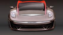 Bertone Nuccio Beijing prototype preview rendering