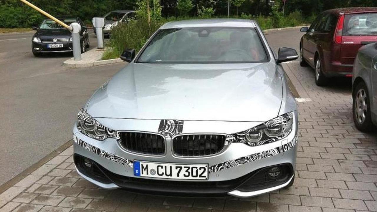 2014 BMW 4-Series Coupe spy photo 06.06.2013