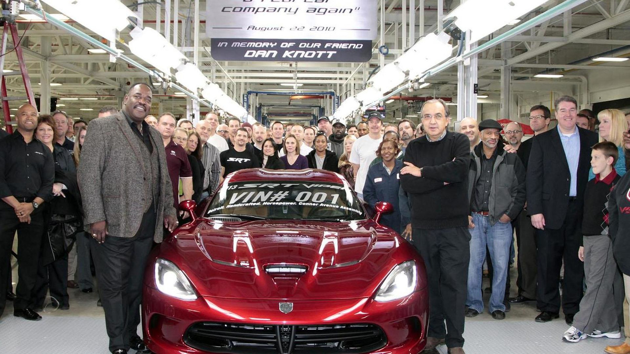 2013 SRT Viper Production 01.11.2013