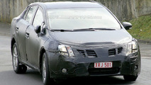 Toyota Avensis spied
