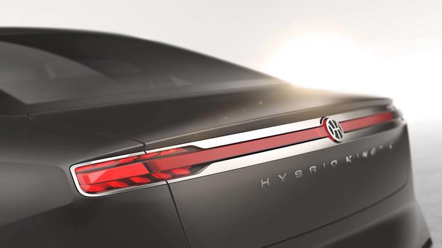 Pininfarina teases a sleek electric sedan for Geneva