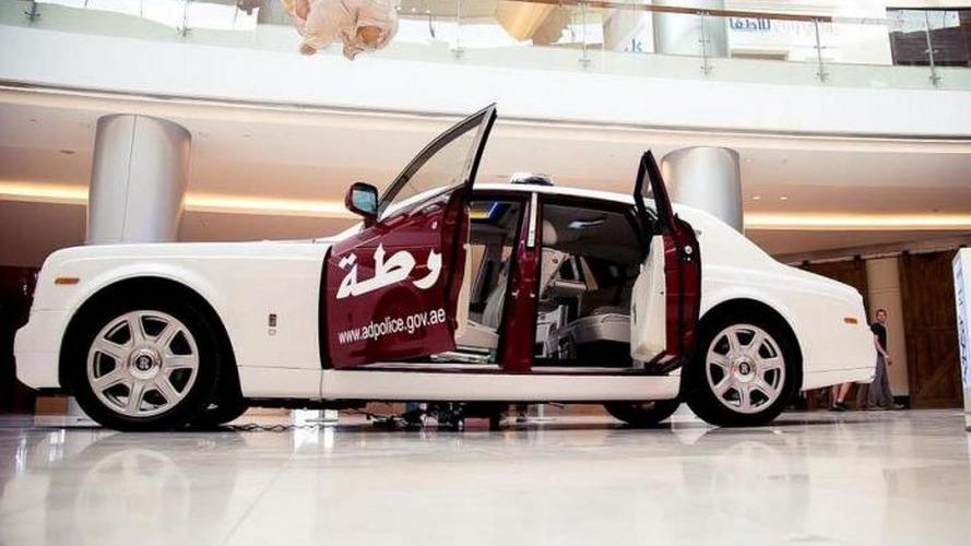 Rolls-Royce Phantom joins Abu Dhabi police fleet
