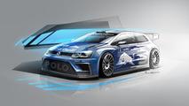 2017 VW Polo R WRC sketch revealed