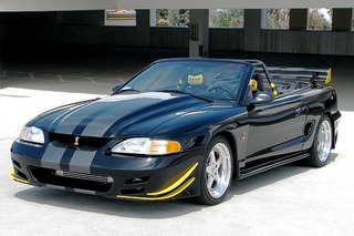 Here's One Mustang Cobra That Isn't Afraid of 200 MPH