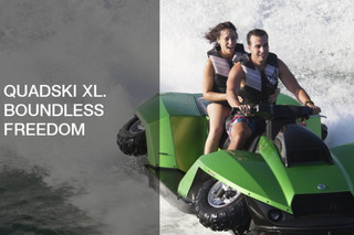 Quadski XL Delivers Two-Seat Joyriding for Trail and Water
