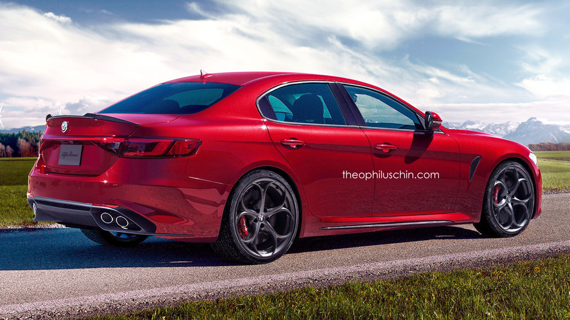 Alfa Romeo S Bmw 5 Series Rival Coming In 2018 With V6 Diesel