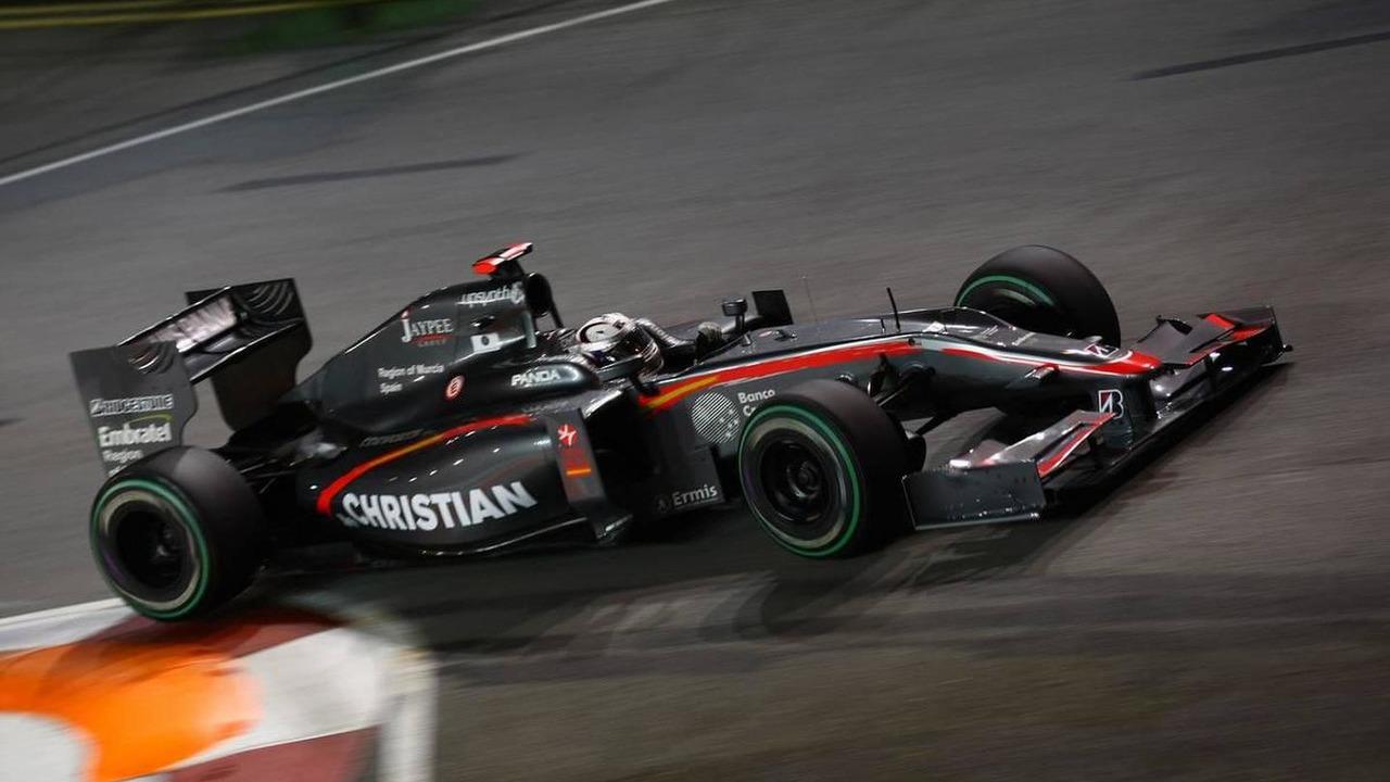 Christian Klien (AUT), test driver, Hispania Racing F1 Team, HRT - Formula 1 World Championship, Rd 15, Singapore Grand Prix, 24.09.2010