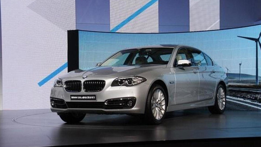 BMW 530Le plug-in hybrid launched exclusively in China