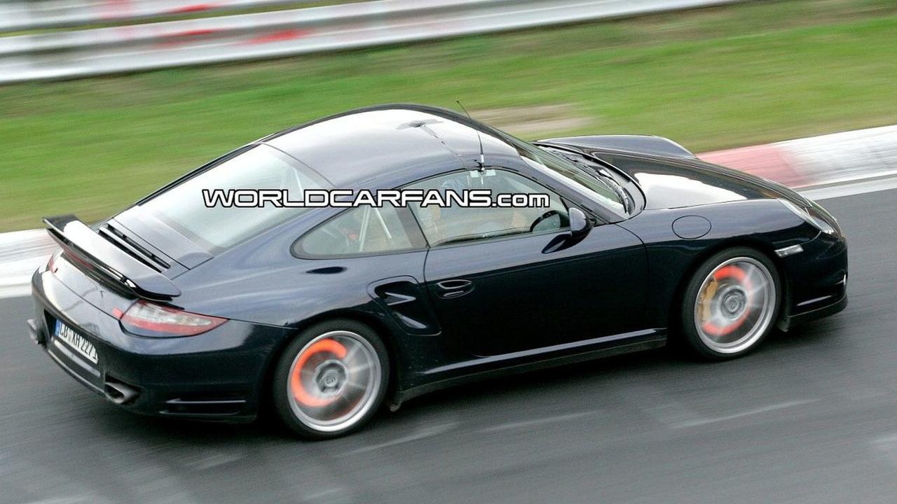 Porsche 911 Turbo Facelift Spied