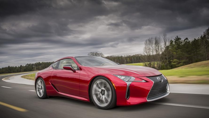 Lexus - Une déclinaison plus radicale de la LC bientôt sur les routes ?