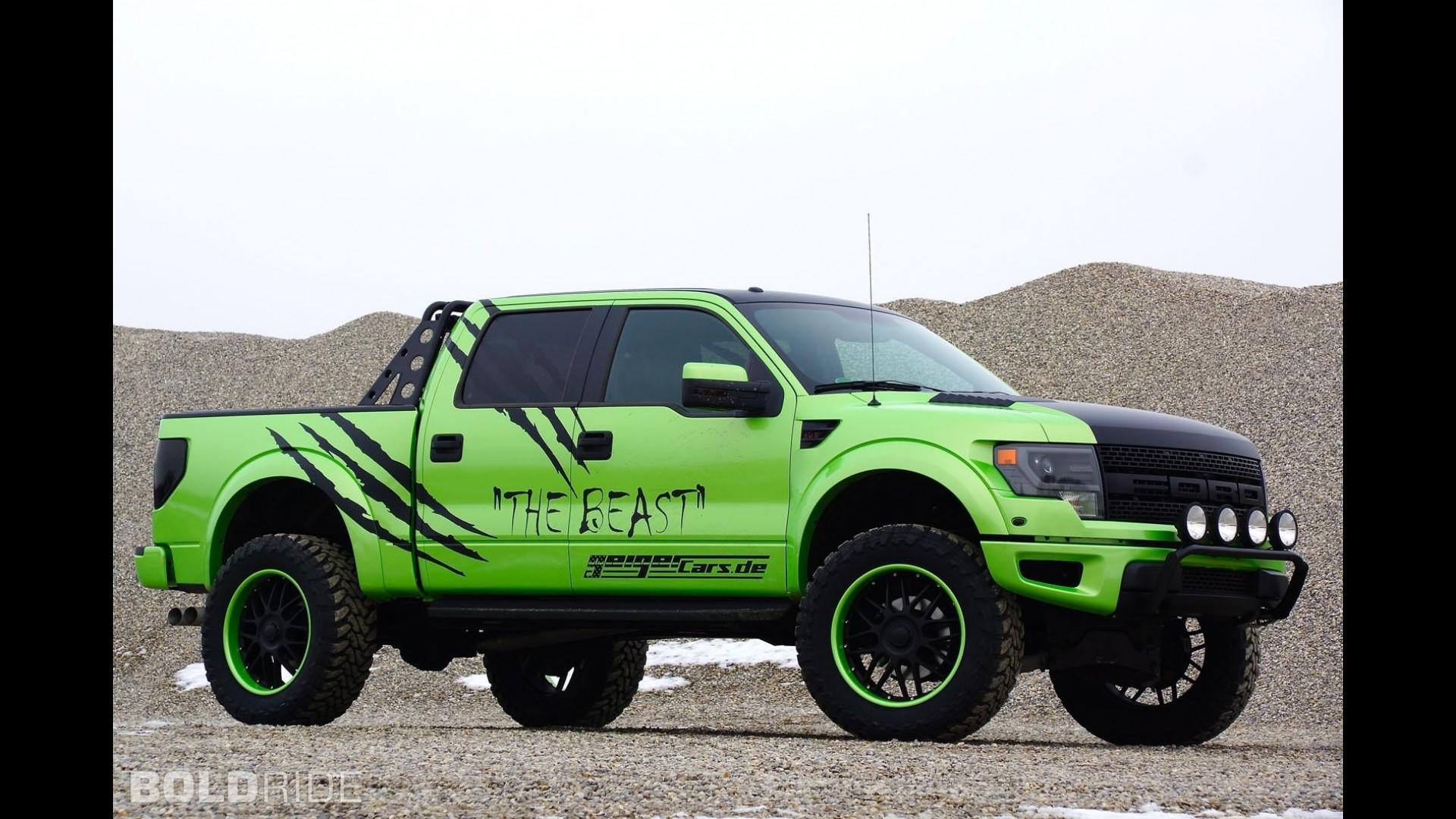 GeigerCars Ford F-150 SVT Raptor The Beast