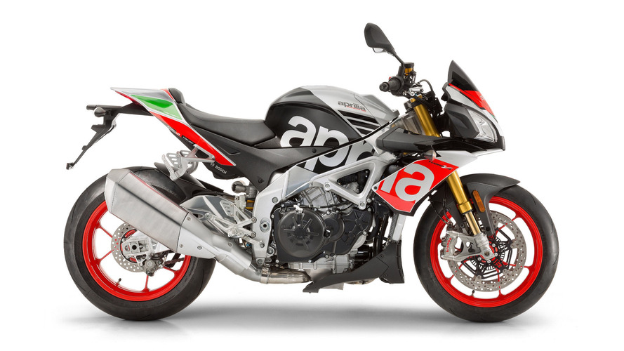 Aprilia updates RSV4 and Tuono V4 1100 for 2017