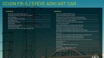 Scion FR-S Steve Aoki Art Car  31.10.2013